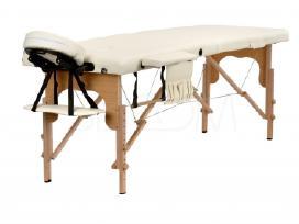 2 ar 3 segmentų medinis ar aliuminis masažo stalas