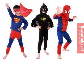 Žmogus Voras, Betmenas, Superman, Ironman, pigiau