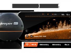 Akcija! Echolotas Deeper Pro (WiFi) Tik 185 € - nuotraukos Nr. 3