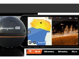 Akcija! Echolotas Deeper Pro (WiFi) Tik 185 € - nuotraukos Nr. 4