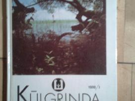 """Ekologijos ir kulturos almanachas """"kulgrinda""""1990m"""