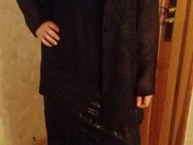 Parduodu nauja juoda suknele su svarkeliu - nuotraukos Nr. 3