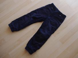 H&m velvetinės kelnės su pamušaliuku 5-6m 116cm