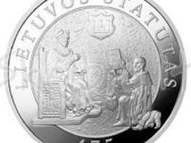 Perkame Lietuvos banko auksines sidabrines monetas - nuotraukos Nr. 3