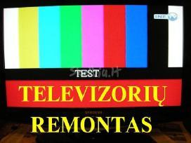 profesionalus TV remontas