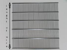 Metalinė skiriamoji tvorelė aviliams,cinkuota