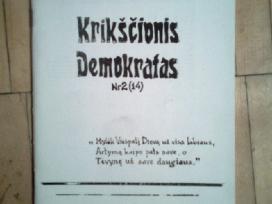 """Leidinys """"Krikscionis demokratas"""" 1989m. 2 nr."""