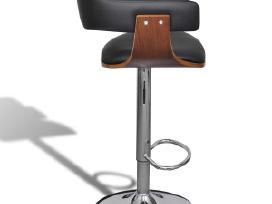 2 Dirbtinės Odos Baro Kėdės, Reg. Aukštis, vidaxl