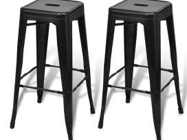 2 Aukštos Baro Kėdės, vidaxl