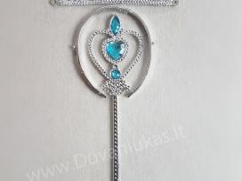 Princesės Elzos burtų lazdelė, karūna, pirštinės*