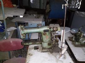 Siuvyklos pramoninės siuvimo mašinos įvairių rūšių