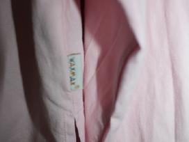 Rožiniai marškinėliai 12 m. mergaitei - nuotraukos Nr. 3