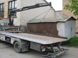 Krano paslaugos, krovinių gabenimas Šiauliai