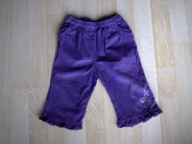 Velvetinės kelnės ir džinsai 9 mėn. 74cm 2vnt. - nuotraukos Nr. 2