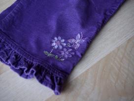 Velvetinės kelnės ir džinsai 9 mėn. 74cm 2vnt. - nuotraukos Nr. 3
