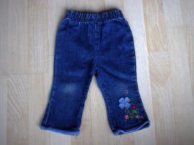 Velvetinės kelnės ir džinsai 9 mėn. 74cm 2vnt. - nuotraukos Nr. 4