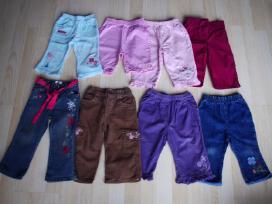 Velvetinės kelnės ir džinsai 9 mėn. 74cm 2vnt. - nuotraukos Nr. 6
