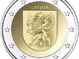 Latvija 2 euro 2016 Vidzeme