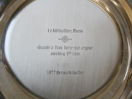 1977m. Bernard Buffet lėkštė