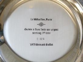 1977 m. Bernard Buffet lėkštė - nuotraukos Nr. 3