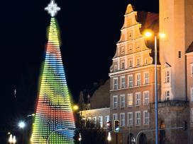 Kalėdinės girliandos,dekoracijos, žvaigždės ir kt