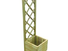 Medinis Treliažas su Loveliu 40x40x135 cm, vidaxl