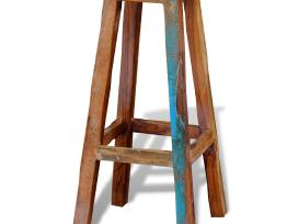 Aukšta Baro Kėdė iš Perdirbtos Medienos, vidaxl