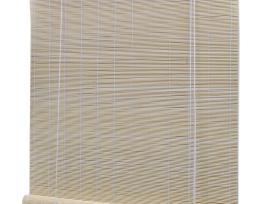 Roletas iš Bambuko, Natūralios Spalvos, 80 x 160