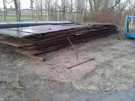 Metalo lakštai 2000x6000 ir kiti
