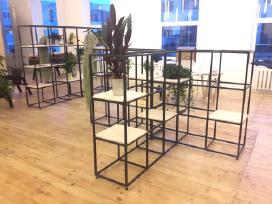 Metaliniai baldai pagal individualius užsakymus - nuotraukos Nr. 4