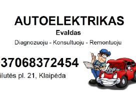 Autoelektrikas Klaipėda Evaldas