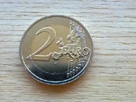 2 Eurai, eurų moneta, Latvija 2016 (karvė) - nuotraukos Nr. 2