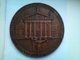 """Medalionas """"Vilniaus Katedra Grąžinta L."""" - nuotraukos Nr. 2"""