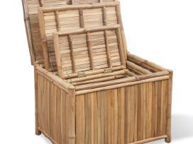 3 Daiktadėžės iš Bambuko, vidaxl