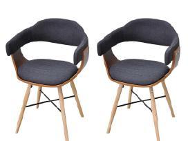 2 Valgomojo Kėdės iš Lenktos Medienos, vidaxl - nuotraukos Nr. 2