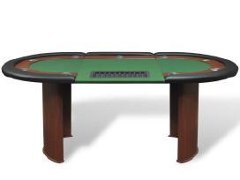 10 Žaidėjų Pokerio Stalas su Vieta Dalintojui - nuotraukos Nr. 2