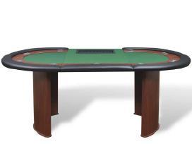 10 Žaidėjų Pokerio Stalas su Vieta Dalintojui - nuotraukos Nr. 3