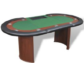 10 Žaidėjų Pokerio Stalas su Vieta Dalintojui - nuotraukos Nr. 4