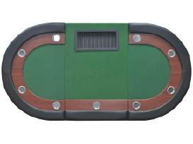 10 Žaidėjų Pokerio Stalas 80133 vidaxl - nuotraukos Nr. 6