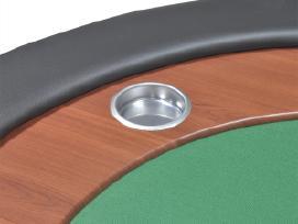 10 Žaidėjų Pokerio Stalas su Vieta Dalintojui - nuotraukos Nr. 8