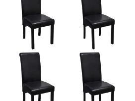 4 Valgomojo Kėdės iš Dirbtinės Odos, vidaxl