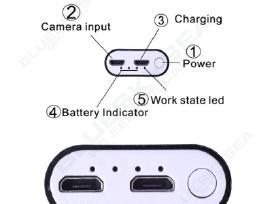 Endoskopinė WiFi kamera 2.0mp (720p)