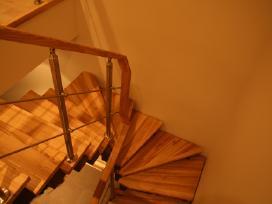Laiptai, pakopos (Betoniniai, metaliniai)