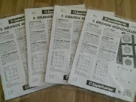 A5, B5 ir A4 formato holderių įmautės