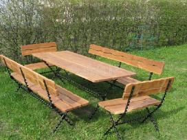 stalas  2x0,8 m.  kaina 550 eu. - nuotraukos Nr. 2