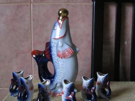 CCCP Porcelianas.zuvele ir zuvytes.zr. foto. - nuotraukos Nr. 3