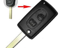 Peugeot raktai 307 407 206 607 207 raktas korpusai - nuotraukos Nr. 6