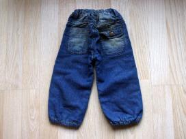 Rudos labai šiltos kelnytės 68, pašilti džinsai 74 - nuotraukos Nr. 5