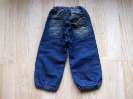 Pašiltinti džinsai 74d. 9m, šiltos kelnės 68d. 6m - nuotraukos Nr. 2