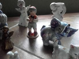 Daug porceliano statulėlių - nuotraukos Nr. 3